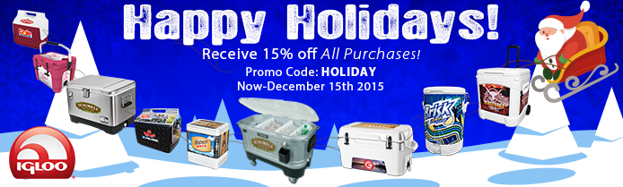 holiday discount banner